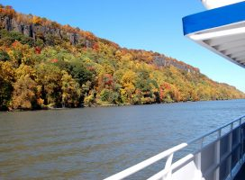 Fall Foliage Brunch Cruise along the Hudson River, NY